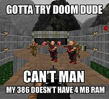 Doom dos  by artkid
