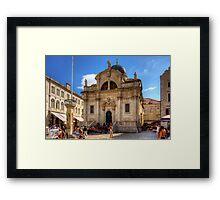 Katedrala Velika Gospa Framed Print