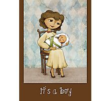 It´s a Boy Photographic Print