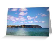 Table Cape Sunshine Greeting Card