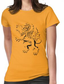 lion crest Womens Fitted T-Shirt
