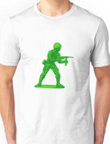 green toy soldier Unisex T-Shirt
