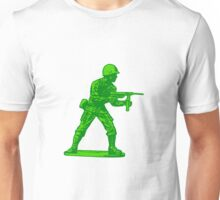 green toy soldier Unisex T-Shirt