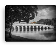 The Bridge from Japan to China (3) Canvas Print