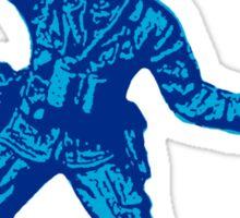 blue toy soldier 2 Sticker