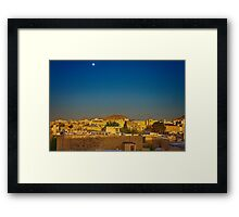 Out The Back of The Bazaar - Isfahan - Iran Framed Print