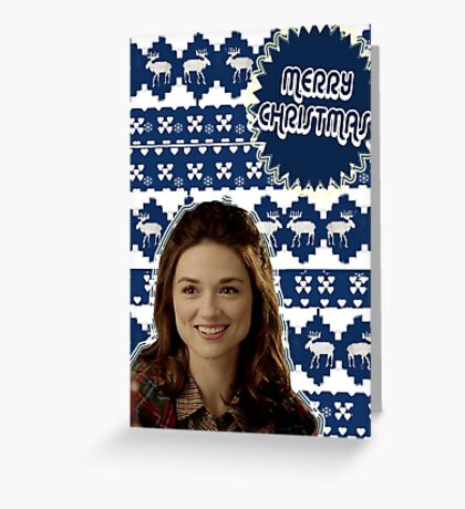 Merry TeenWolf-mas [Allison] Greeting Card
