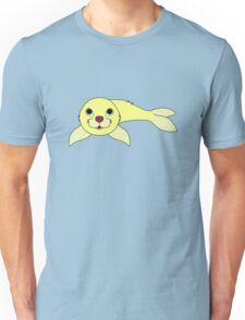 Light Yellow Baby Seal Unisex T-Shirt