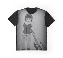 RUBY ROCK CHICK BW Graphic T-Shirt