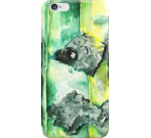 Watercolor Emerald With Calligraphy – May Birthstone iPhone Case/Skin
