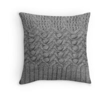 knitted ornament Throw Pillow
