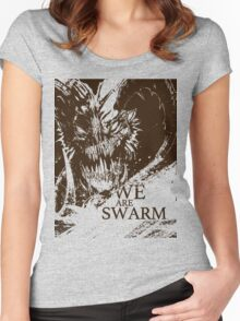 We Are Swarm - Wood Demon Women's Fitted Scoop T-Shirt
