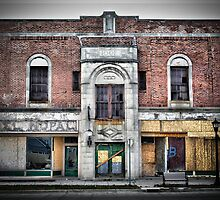 Old Building on Broadway by Tom Causley