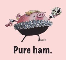 Hamlet - Pure ham (Dark text) Kids Clothes