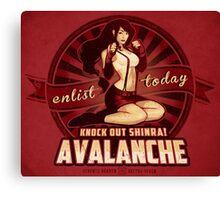 Knock Out Shinra! Canvas Print