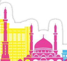 Astana skyline pop Sticker