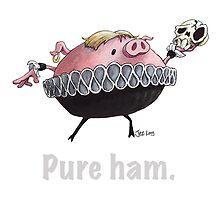 Hamlet - Pure ham (Light text) by JezLong