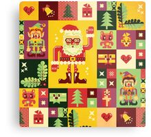 Christmas Pattern No. 1 Metal Print