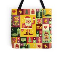 Christmas Pattern No. 1 Tote Bag