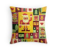 Christmas Pattern No. 1 Throw Pillow