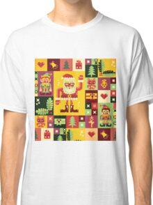 Christmas Pattern No. 1 Classic T-Shirt