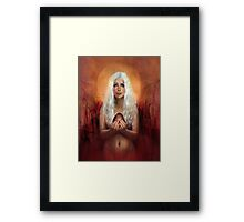 Through Fire and Flame Framed Print
