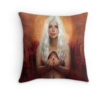 Through Fire and Flame Throw Pillow