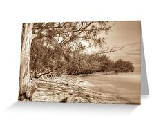 Coral Harbour Beach in Nassau, The Bahamas Greeting Card