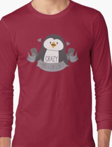 Crazy penguin Lady Banner Long Sleeve T-Shirt