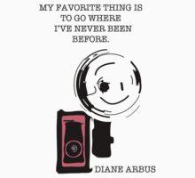 Diane Arbus by TatiDuarte