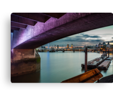 Waterloo Soffit Canvas Print