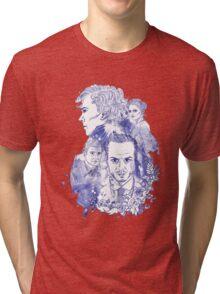 Sherlock Holmes Illustration Tri-blend T-Shirt