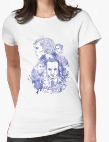 Sherlock Holmes Illustration Womens Fitted T-Shirt