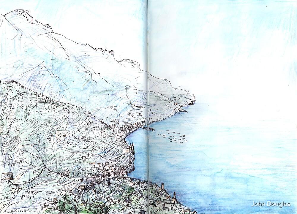 From Ravello Towards Minori and Maiori by John Douglas