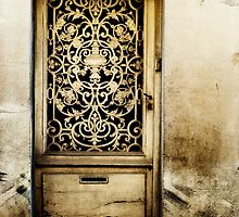 Door in Langres by A. Duncan