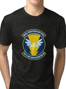 Wonderbolt Squadron Shirt (Large Patch) Tri-blend T-Shirt