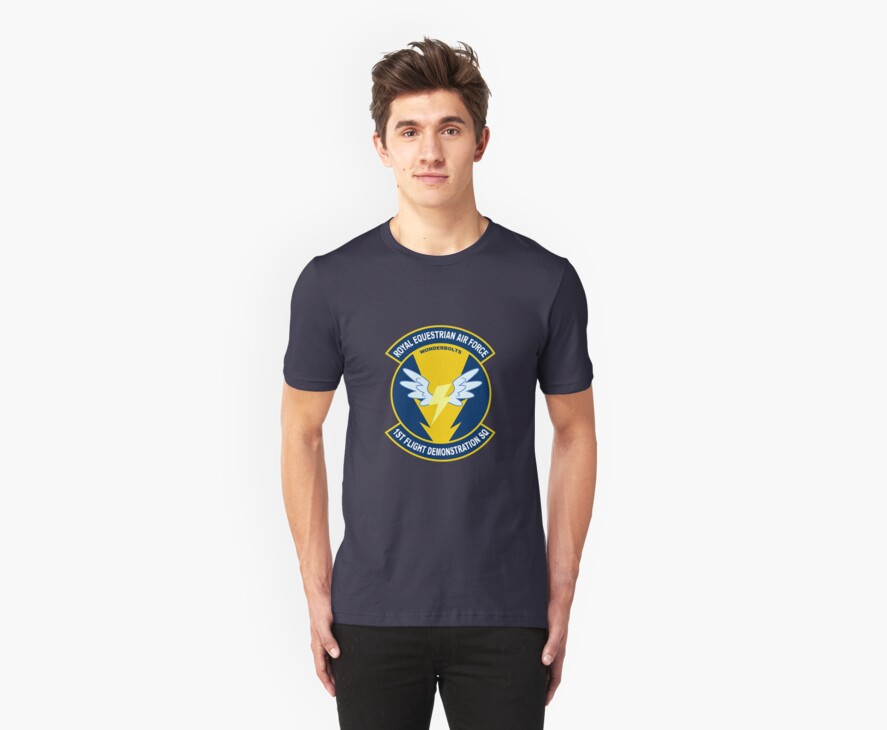 Wonderbolt Squadron Shirt (Large Patch) by mattings