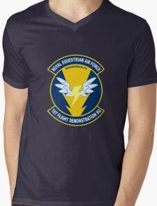 Wonderbolt Squadron Shirt (Large Patch) Mens V-Neck T-Shirt