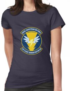 Wonderbolt Squadron Shirt (Large Patch) Womens Fitted T-Shirt