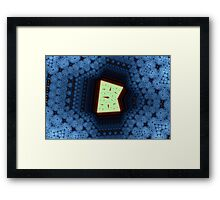 Geometric Patterns No. 50 Framed Print