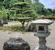 In the Garden of Japan (3) by Larry Lingard/Davis
