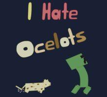 I Hate Ocelots Kids Clothes
