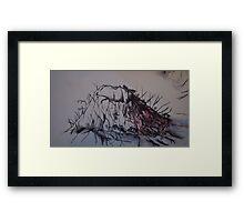 Doom. Framed Print