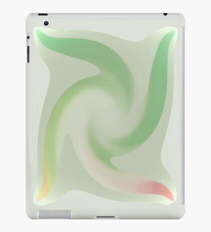 Ice Green Twirl iPad Case/Skin
