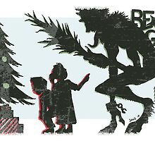 Krampus - Silhouette by Brandon Dawley