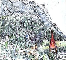 European Sketches by John Douglas by John Douglas