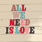 All We Need Is Love by retroboho
