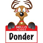 My Name is Donder by Blackwing