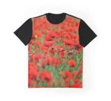 Poppies for a weary mind Graphic T-Shirt
