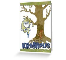Krampus - The Hunt Greeting Card